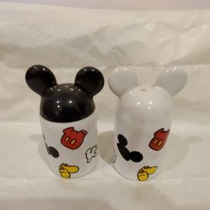 Mickey Salt & Pepper Shakers